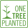 One Tree Planted logo square green