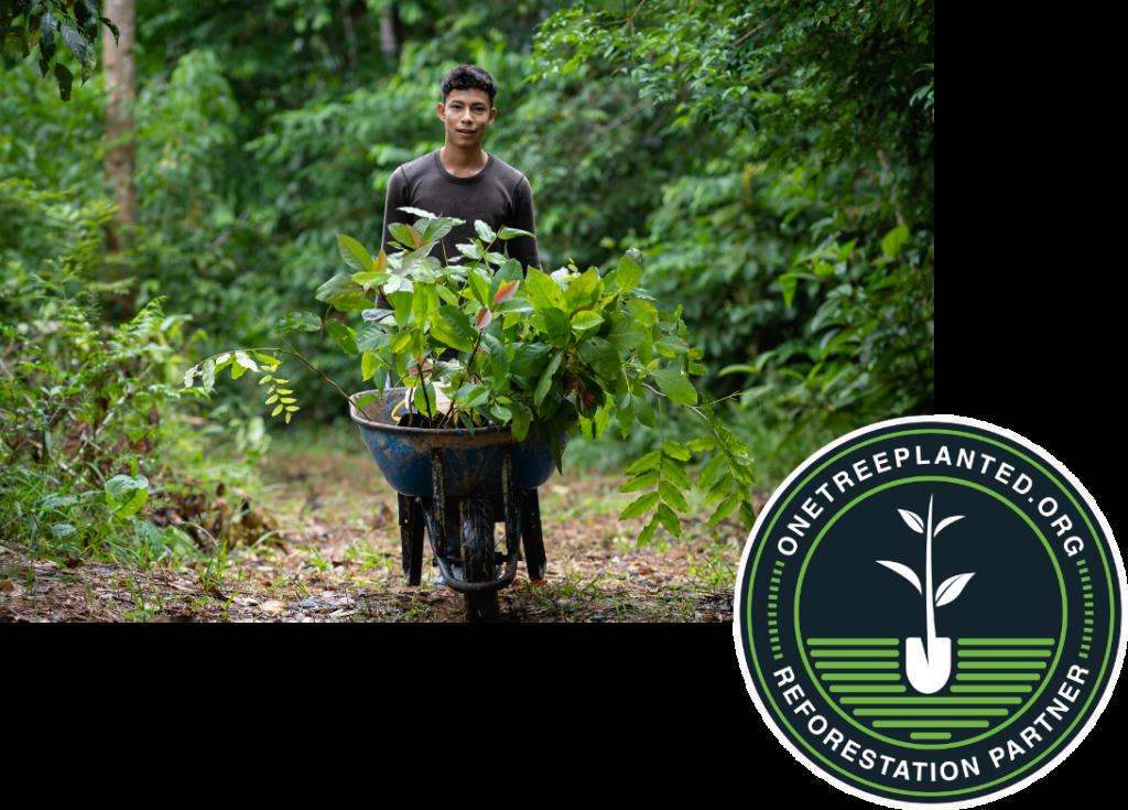 Reforestation Partner - Sustainability page